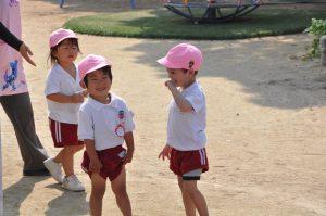 240614南陽幼稚園園庭にて