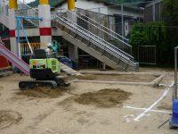 240623南陽幼稚園園庭工事