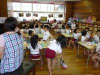 240719南陽幼稚園給食後の歌