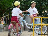 240925南陽幼稚園自転車