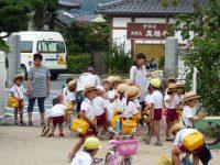 240920南陽幼稚園登園風景