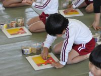 241120南陽幼稚園和久積み木