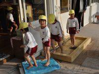 250116南陽幼稚園足洗い場