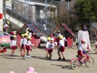 250110南陽幼稚園外遊び