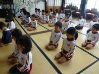 250115南陽幼稚園年長座禅坐禅正念