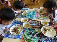 250115南陽幼稚園年少給食