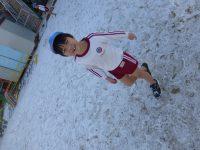 250128南陽幼稚園雪景色