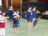 250208南陽幼稚園発表会の練習
