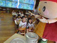 250307南陽幼稚園シマヤ味噌みそらちゃん