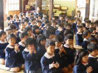 250420南陽幼稚園お寺へお参り供養