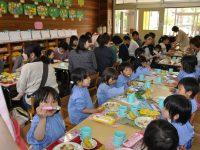 250517南陽幼稚園給食参観日