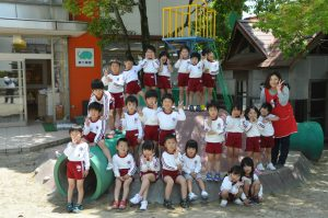 250520南陽幼稚園うさぎ組集合
