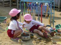 250507南陽幼稚園朝の自由遊び