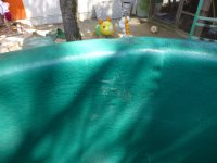 250507南陽幼稚園GW中の落書き