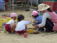 250509南陽幼稚園園庭の様子