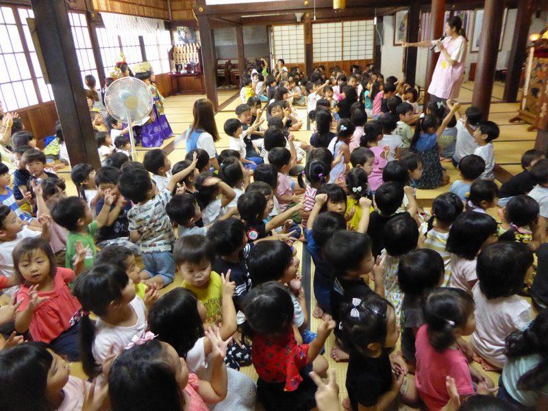 南陽幼稚園の一学期終業式